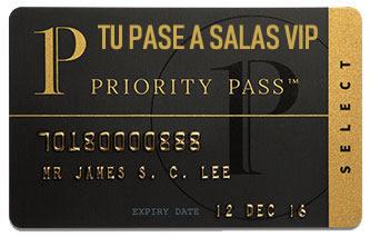Obtener membresia Priority Pass